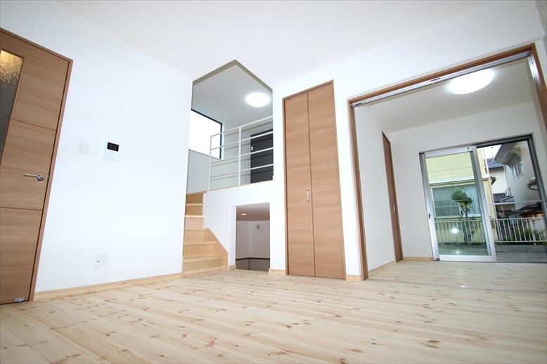 【完成済み・即入居可】耐震性能1.5倍超。大野台の地震に強いデザイン住宅