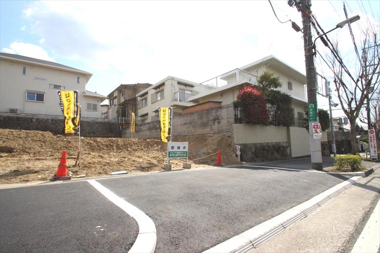 【建築条件なし】急行停車駅に徒歩9分の便利かつ閑静な住宅地
