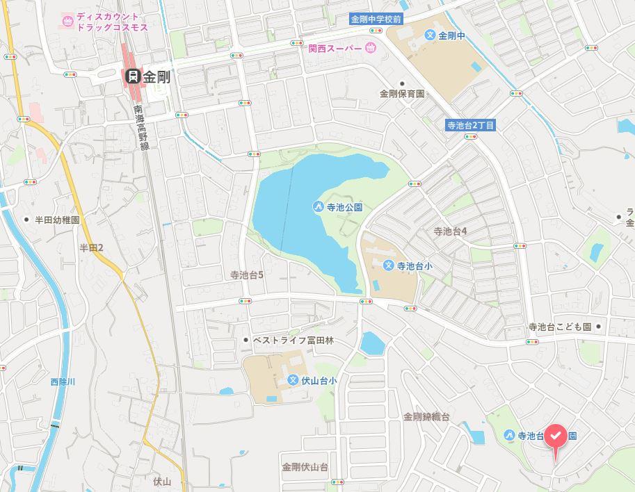 【完成済】寺池台3丁目 新築戸建