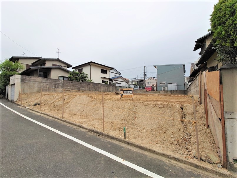 【成約御礼】北貴望ケ丘 建築条件なし土地(2号地)